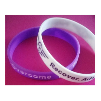 Purple Wings Charity Bands